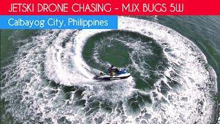 Jetski Drone Chase! MJX Bugs 5W Footage