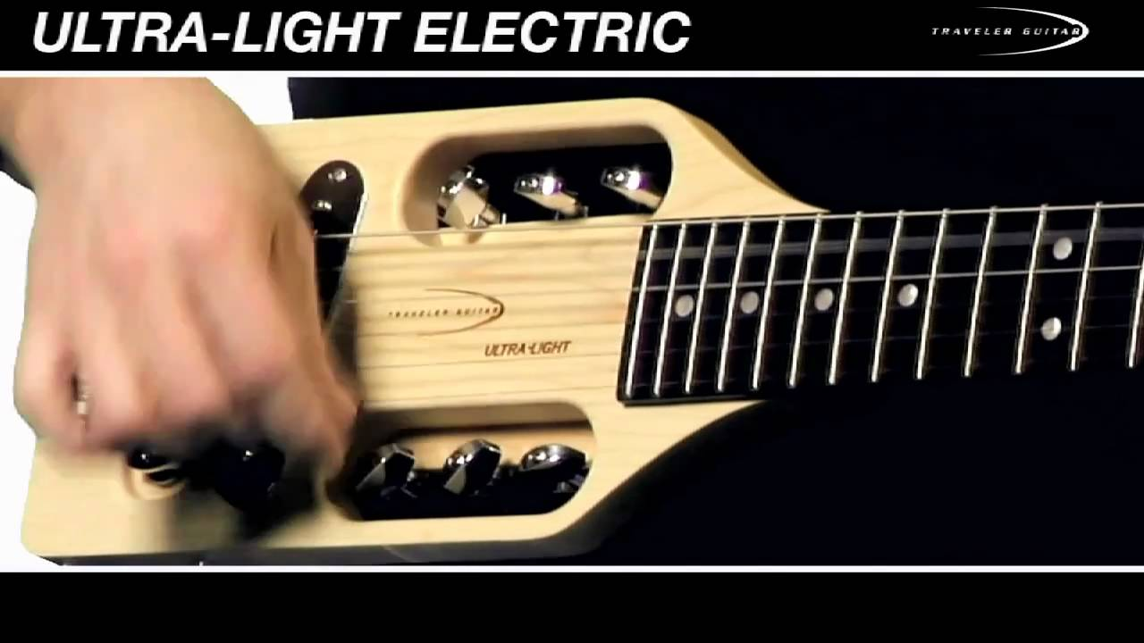 Traveler Guitar Ultra-Light Electric Guitar Overview and Demo