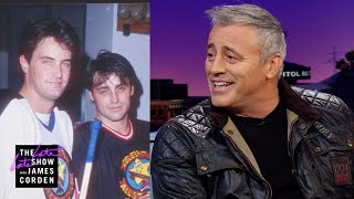 Matt LeBlanc Hockey Checks James Corden