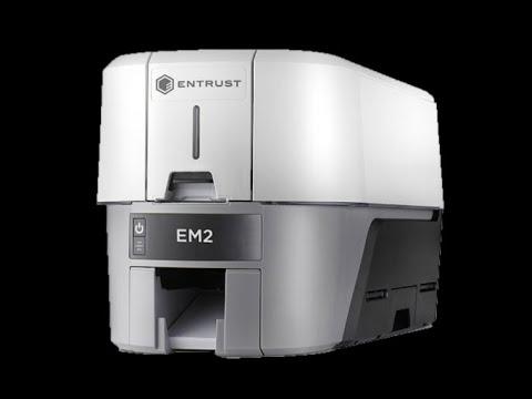 PVC Entrust Data Card EM2 Duplex Printer