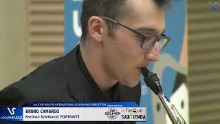 Bruno Carmargo plays  Portraits by Kresimir Seletkovic