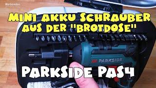 Ausprobiert - Lidl - PARKSIDE® Akku-Stabschrauber PAS 4 C4