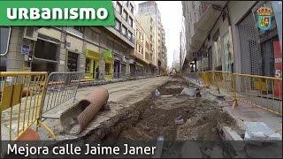 Humanización y mejora calle Jaime Janer.