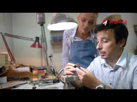Gold Laser Marking And Cutting Machine