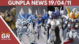 Gunpla News: Alex 2.0, EXS 1.5, Sisquiede, Destiny, Gound Type, GM, Unicorn, Maganac