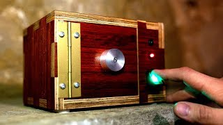 Making a Wooden Safe with Fingerprint Lock