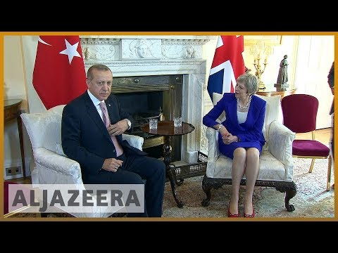 🇹🇷 Turkish PM Erdogan's 🇬🇧 UK visit met with protests | Al Jazeera English