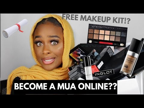 HOW TO BECOME A CERTIFIED MUA ONLINE | ONLINE MAKEUP ...