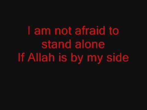 Native Deen-I am not Afraid to Stand Alone lyrics