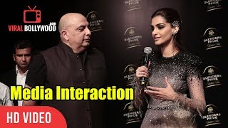 Sonam Kapoor Interaction With Media | Blenders Pride Fashion Tour 2017