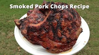 Smoked Pork Chops Recipe | How To Smoke Pork Chops Malcom Reed HowToBBQRight
