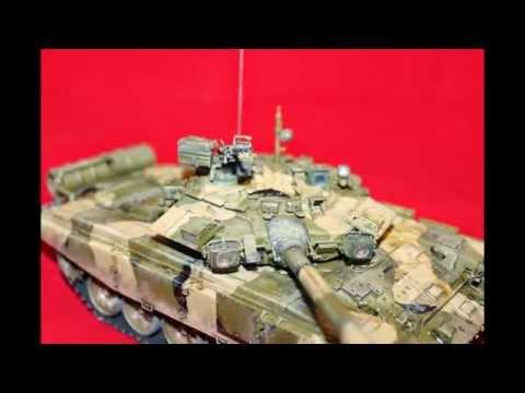 Сборка и покраска vezda 3573 Russian main battle tank T-90