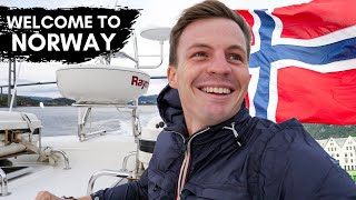Flying into Bergen - Gateway to the Norwegian Fjords