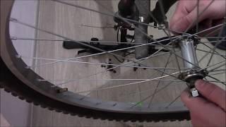 Как поменять обод колеса на велосипеде