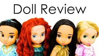 Doll Review: Disney Animators Collection | Quick Craft : Recycled Doll Bed | The Naveen Show