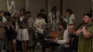 2012-05-27 Gdynia Obłuże. Modlitwa uwielbienia w Niedzielę Zesłania Ducha Świętego