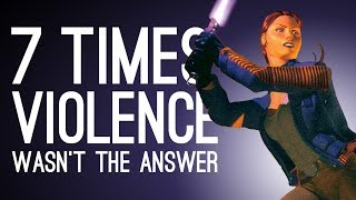 7 Times Violence Wasn't the Answer