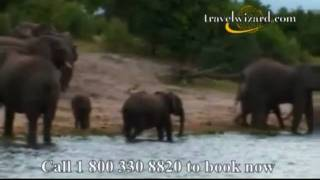 Botswana's Chobe Chilwero : Africa Travel Video