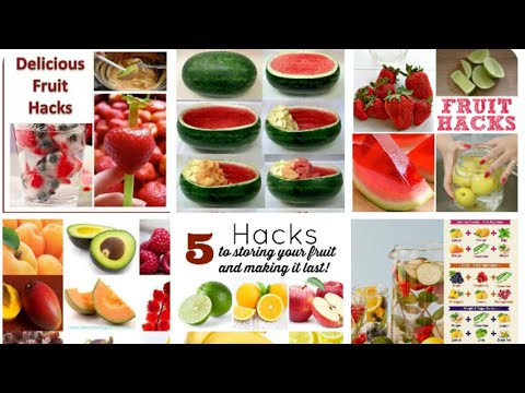 Smart hacks and crafts -water melon-different hacks and gadgets different appliances