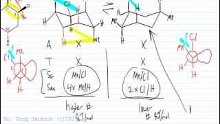 Total Strain Calculations with a Cyclohexane Chair Example