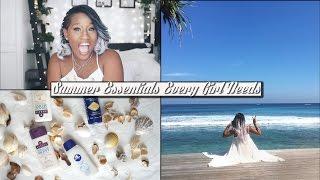 6 SUMMER ESSENTIALS! | Neat Bikini lines, summer glow, perfect selfies & MORE