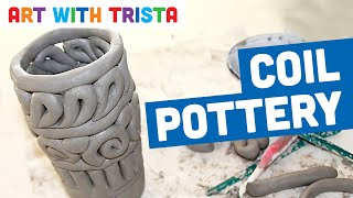 Art With Trista - Coil Pottery Step By Step