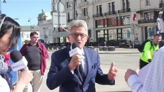 Rowerzysta do Piotrowicza: Kłamca! PRL się kłania.