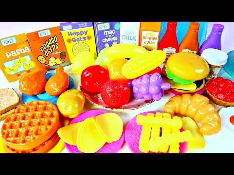 Comida Falsa para Cocinita de Juguete |Kitchen Playset Mundo de Juguetes