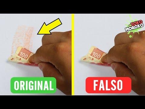 Trucos Para Identificar Billetes Falsos