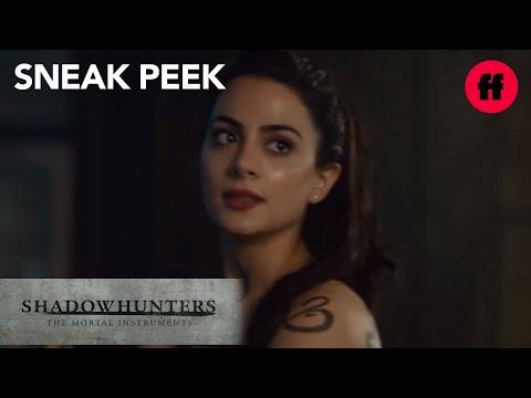 Shadowhunters | Season 2, Episode 14 Sneak Peek: Izzy Confides in Sebastian | Freeform