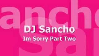 dj sancho im sorry