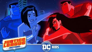 Justice League Action | Super Red VS Super Blue | DC Kids