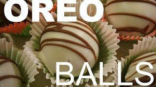 How to make Oreo Balls!