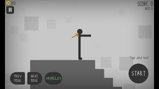 Stickman Dismounting Gameplay Part 5 - Choose your Path