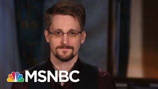Edward Snowden On Trump, Privacy, And Threats To Democracy