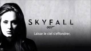 Adele Skyfall Traduction francais