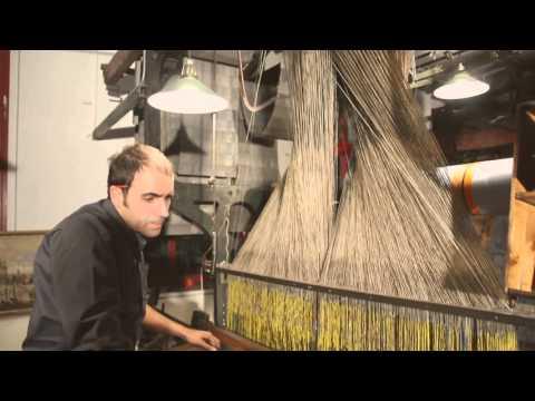 Museumsvideo - Weben bei der Jacquardweberei