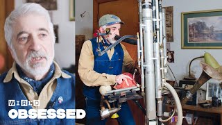 How This Guy Makes Amazing DIY Musical Contraptions | Obsessed | WIRED