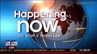 Fox News Happening Now Open and Graphics - Early 2013