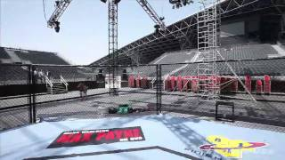 UFC 112 Outdoor Arena Tour in Abu Dhabi