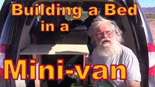How to Build a Bed in a Minivan