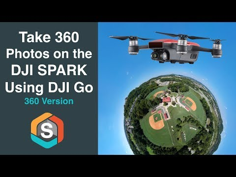 Take 360 Immersive Photos with the DJI Spark - DJI Go 4 Pano Mode