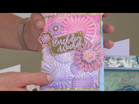 David Tutera 3-D Embossing Folder Set On HSN!