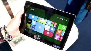 """Acer Aspire Switch 10 V 2-in-1-Tablet mit Intel """"Cherry Trail"""" im Hands-on [DEUTSCH]"""
