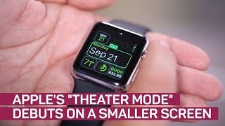 Apple's 'theater mode' debuts on a smaller screen (CNET News)