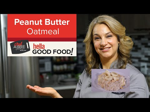 Instant Pot Oatmeal with Peanut Butter