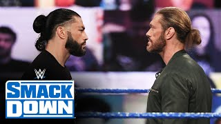 Roman Reigns Vs. Edge WrestleMania 37 Match Odds, AEW Revolution