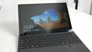 Video zum Test: Microsoft Surface Pro 4 Type Cover mit Fingerabdruck-ID