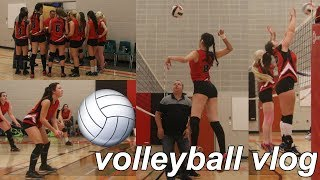 Volleyball Tournament Vlog #7 (HIGHSCHOOL)