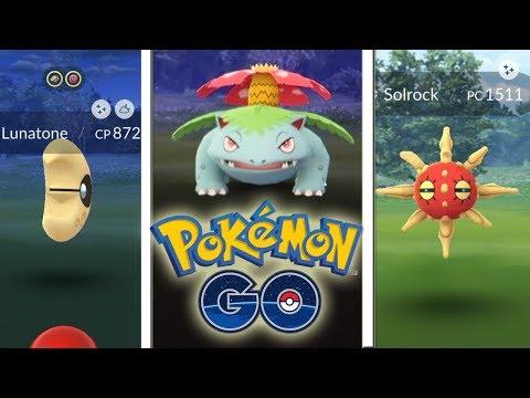 The Pokémon Go To Solrock Lunatone And Gloom Shiny Are Now